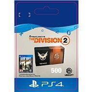 Tom Clancys The Division 2 – 500 Credits – PS4 SK Digital - Herný doplnok