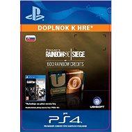 Tom Clancy's Rainbow Six Siege Currency pack 600 Rainbow credits – PS4 SK Digital - Herný doplnok