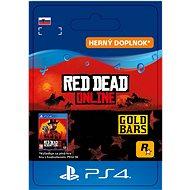 Red Dead Redemption 2: 25 Gold Bars - PS4 SK Digital - Herný doplnok