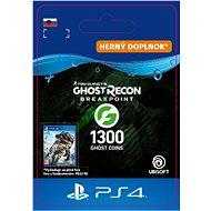 Ghost Recon Breakpoint: 1300 Ghost Coins - PS4 SK Digital - Herný doplnok