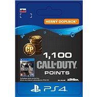 Call of Duty: Modern Warfare Points - 1,100 Points - PS4 SK Digital - Herný doplnok