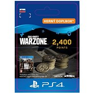 Call of Duty: Warzone - 2,400 Warzone Points - PS4 SK Digital