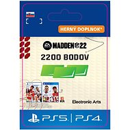 Madden NFL 22: 2200 Madden Points - PS4 SK DIGITAL