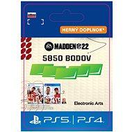 Madden NFL 22: 5850 Madden Points - PS4 SK DIGITAL