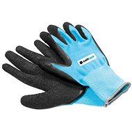 CELLFAST rukavice záhradné polyester/latex veľ. 8/M