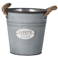M. A. T. decorative pot 21,5x20,5cm with galvanized rope