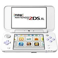 Nintendo NEW 2DS XL White & Levander Green + Tomodachi Life