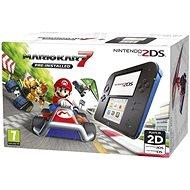 Nintendo 2DS Black & Blue + Mario Kart 7 - Herná konzola