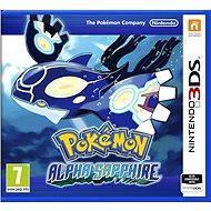 Nintendo 3DS - Pokemon Alpha Sapphire - Hra na konzolu