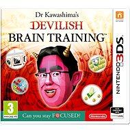 Dr. Kawashima's Devilish Brain Training - Nintendo 3DS