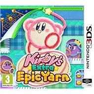 Kirbys Extra Epic Yarn - Nintendo 3DS - Hra na konzolu