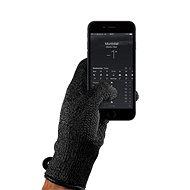 MUJJO Dvojvrstvové dotykové rukavice pre SmartPhone - veľkosť M - čierne