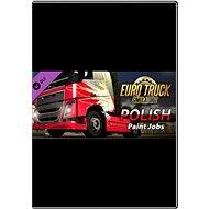 Euro Truck Simulator 2 – Polish Paint Jobs Pack - Herný doplnok