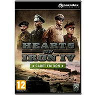 Hearts of Iron IV: Cadet Edition (PC/MAC/LINUX) DIGITAL - Hra na PC