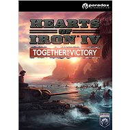Hearts of Iron IV: Together for Victory (PC/MAC/LX) DIGITAL - Herný doplnok