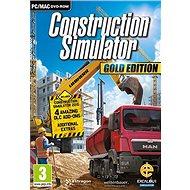 Construction Simulator Gold Edition (PC/MAC) DIGITAL - Hra na PC