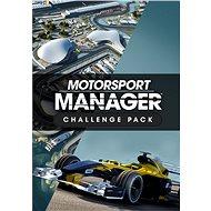 Motorsport Manager – Challenge Pack (PC/MAC/LX) DIGITAL - Herný doplnok
