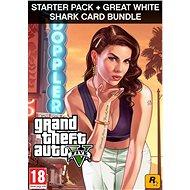 Grand Theft Auto V + Criminal Enterprise Starter Pack + Great White Shark Card (PC) DIGITAL - Hra na PC