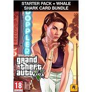Grand Theft Auto V + Criminal Enterprise Starter Pack + Whale Shark Card (PC) DIGITAL - Hra na PC