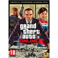 Grand Theft Auto Online: Criminal Enterprise Starter Pack (PC) DIGITAL - Herný doplnok