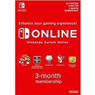 90 Days Online Membership (Individual) – Nintendo Switch Digital - Dobíjacia karta