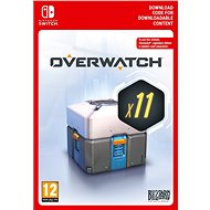 Overwatch 11 Loot Boxes - Nintendo Switch Digital - Gaming Accessory