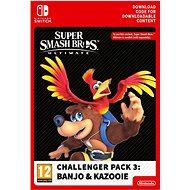 Super Smash Bros. Ultimate: Challenger Pack 3: Banjo & Kazooie (DLC) - Nintendo Switch Digital - Gaming Accessory