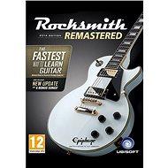 Rocksmith 2014 Edition – Remastered – PC DIGITAL