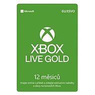 Dobíjacia karta Xbox Live Gold, 12-mesačné členstvo - Dobíjecí karta