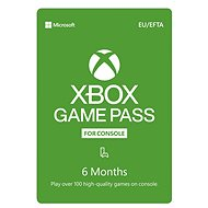 Xbox Game Pass - 6 Month Subscription - Prepaid Card