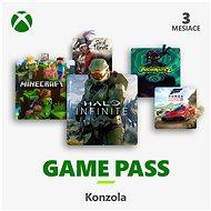 Xbox Game Pass – 3 mesačné predplatné - Dobíjacia karta