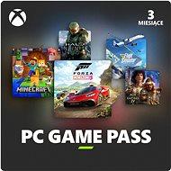 Xbox Game Pass – 3 mesačné predplatné (pre PC s Windows 10) - Dobíjacia karta
