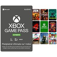 Xbox Game Pass Ultimate - 1 měsíční předplatné - Dobíjacia karta