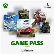Dobíjacia karta Xbox Game Pass Ultimate – 3 mesačné predplatné