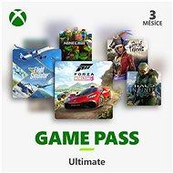 Xbox Game Pass Ultimate – 3 mesačné predplatné - Dobíjacia karta