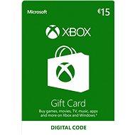 Xbox Live Darčeková karta v hodnote 15 Eur - Dobíjacia karta