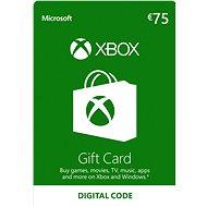 Xbox Live Darčeková karta v hodnote 75 Eur - Dobíjacia karta