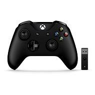 Xbox One Wireless Controller + Bezdrôtový adaptér pre Windows 10 - Gamepad