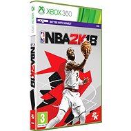 NBA 2K18 - Xbox 360 - Hra na konzolu
