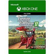 Farming Simulator 17 - Platinum Edition - Xbox One Digital - Hra pro konzoli