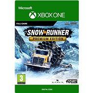 SnowRunner - Premium Edition - Xbox One Digital - Console Game
