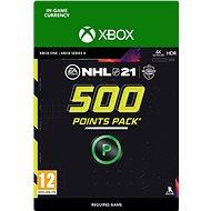 NHL 21: Ultimate Team 500 Points – Xbox Digital - Herný doplnok