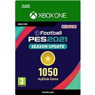 eFootball Pro Evolution Soccer 2021: myClub Coin 1050, Xbox Digital - Herný doplnok
