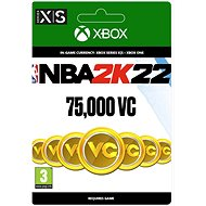 NBA 2K22: 75,000 VC – Xbox Digital