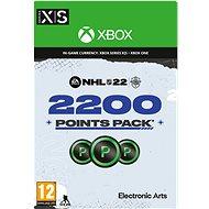 NHL 22: Ultimate Team 2200 Points – Xbox Digital