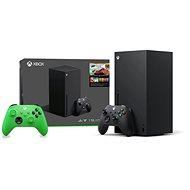 Herná konzola Xbox Series X + 2× Xbox Wireless Controller