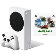 Herná konzola Xbox Series S + Xbox Game Pass Ultimate – 3 mesačné predplatné