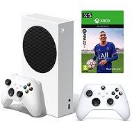 Xbox Series S + 2x Xbox Wireless Controller + FIFA 22 - Game Console