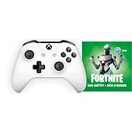 Xbox One Wireless Controller White + Fortnite Eon Bundle