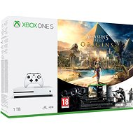 Xbox One S 1TB Assassin's Creed: Origins + Rainbow 6: Siege - Herná konzola